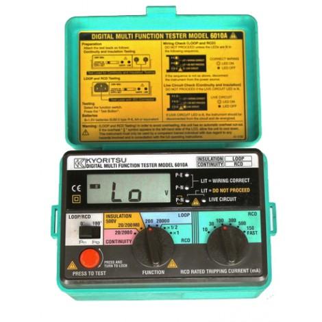 Kyoritsu 6010a 4 In 1 Multifunction Tester