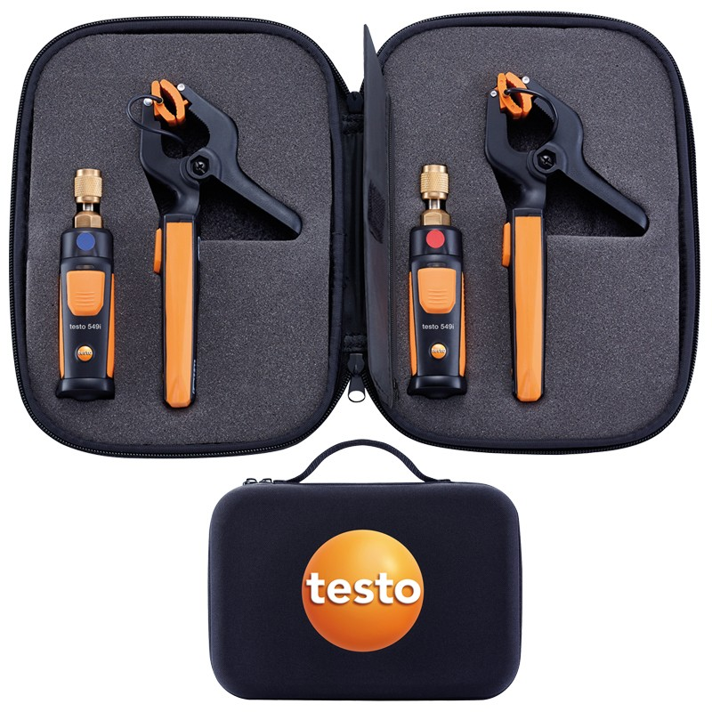 Testo Smart Tools Wireless Refrigeration Gauges