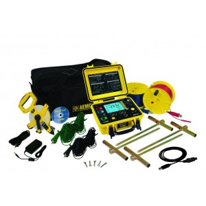 AEMC 6472 Multifunction Digital Ground Resistance Tester Kit - 300ft