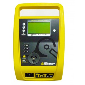 TnT-RCD Portable Appliance Tester with RCD Function