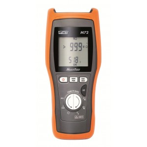 HT Italia Multitest M72 Insulation Resistance Tester with DMM
