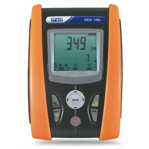 HT Italia GEO 416 Hand Held Ground Resistance Tester
