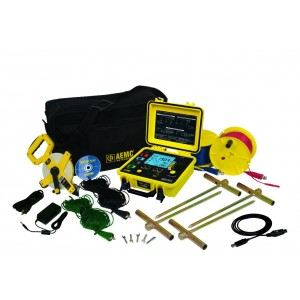 AEMC 6470-B Multifunction Digital Ground Resistance Tester Kit - 500ft