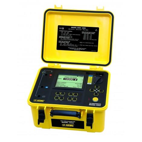 AEMC 6550 10kV Programmable Insulation Resistance Tester