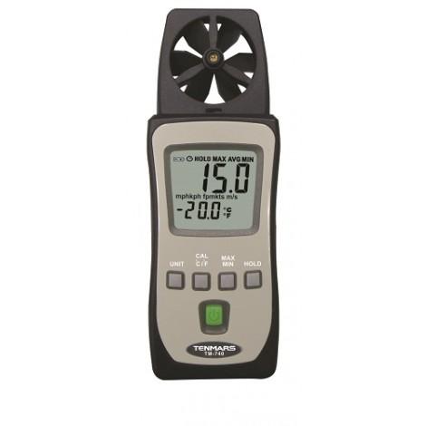 Tenmars TM-740 Mini Air Flow Meter