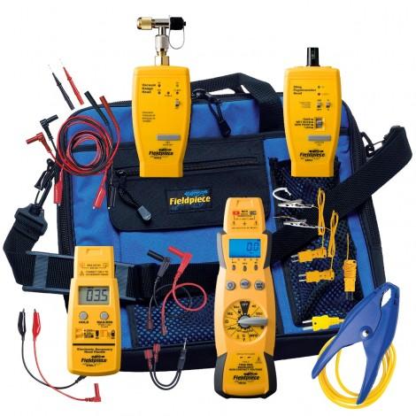 Fieldpiece HS36K19 HVAC Field Test Kit with HS36 TRMS Meter