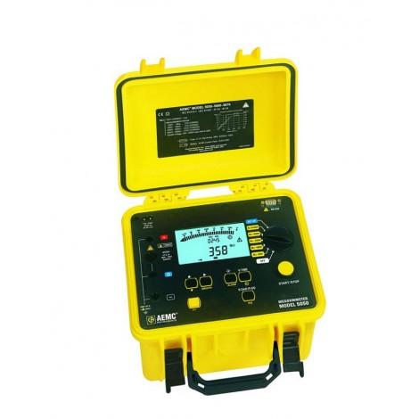 AEMC 5050 5kV Programmable High Voltage Digital Insulation Tester