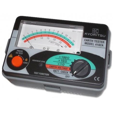 Kyoritsu 4102a earth tester manuals