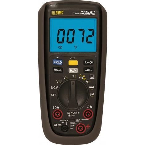 AEMC 5217 TRMS Digital Multimeter