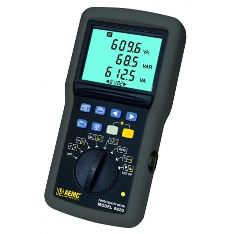 AEMC 8220 Single Phase Power Quality Analyser