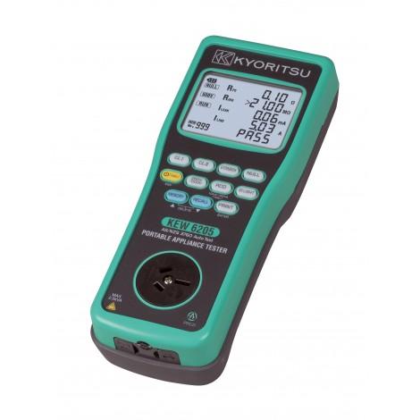 Kyoritsu 6205 Portable Appliance Tester | Test Equipment Australia