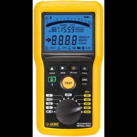 AEMC 6526 Multi-Function 1000V Digital Insulation Resistance Tester