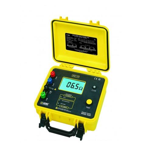 AEMC 4620 - 4 Pole Ground Resistance Tester