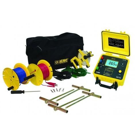 AEMC 4620 Digital Ground Resistance Tester Kit - 300ft