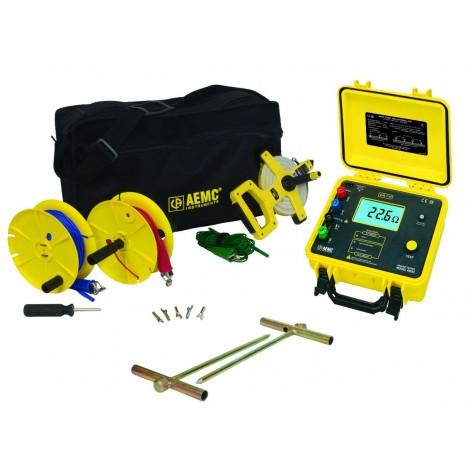 AEMC 4630 Digital Ground Resistance Tester Kit - 150ft
