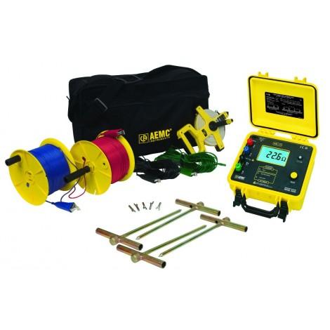 AEMC 4630 Digital Ground Resistance Tester Kit - 500ft