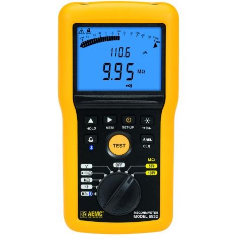 AEMC 6532 Multi-Function 100V Digital Insulation Resistance Tester