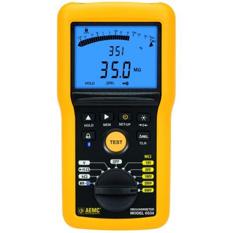 AEMC 6534 Multi-Function 500V Digital Insulation Resistance Tester