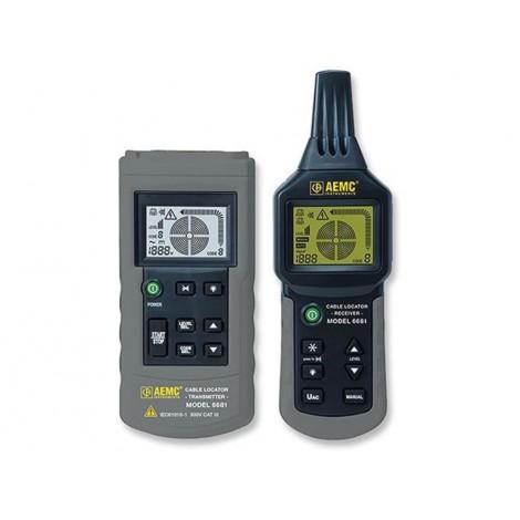 AEMC 6681 Cable Locator & Circuit Tracer | Test Equipment Australia