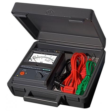 Kyoritsu 3123A Analogue HV 5/10kV Insulation Tester