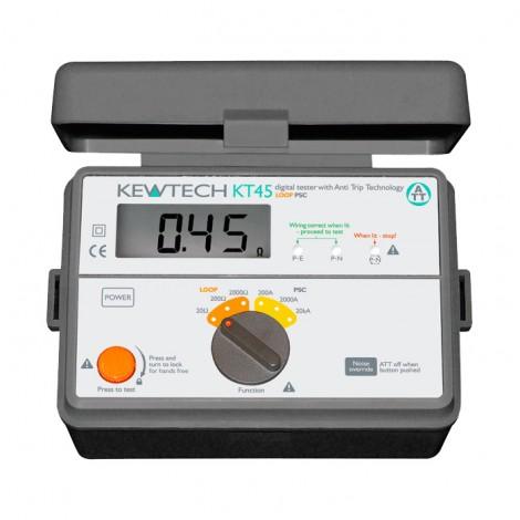 Kewtech KT45 Loop Impedance Tester | Test Equipment Australia