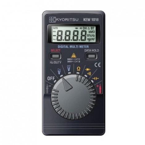 Kyoritsu 1018H Pocket Multimeter with Hard Case