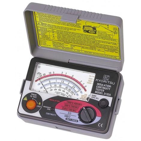 Kyoritsu 3132A Analogue Insulation and Continuity Tester