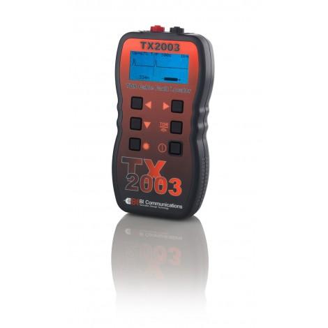 BI Communications TX2003 Long Range Digital Time Domain Reflectometer TDR