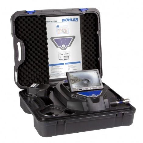 Wohler VIS 200 Pipe Inspection Camera Standard Set | Test Equipment Australia