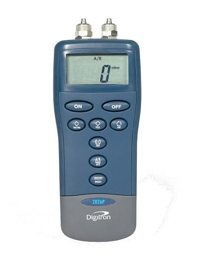 differential manometer. digitron 2026p waterproof digital differential manometer 0-1000kpa