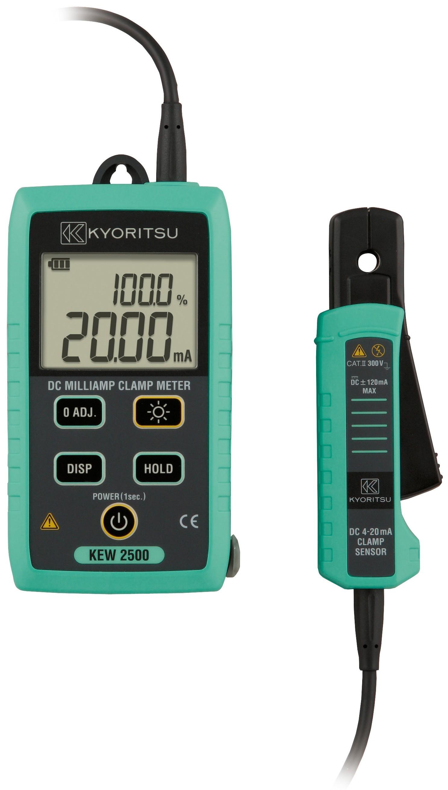 Dc Clamp Meter : Kyoritsu dc milliamp clamp meter test equipment
