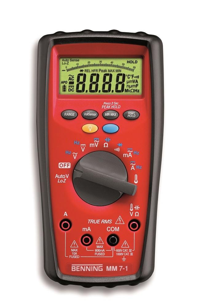 Benning MM 7-1 Industrial True RMS CAT IV Digital Multimeter