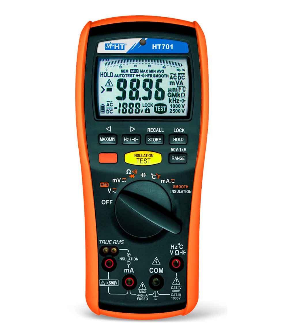 True Rms Meter : Ht italia true rms ac dc multimeter vdc