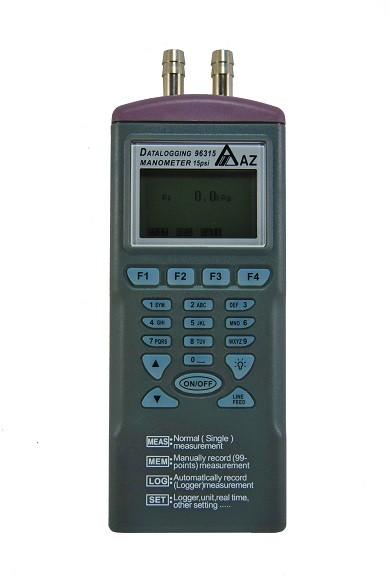 Datalogging 0 15 Psi Digital Differential Manometer With