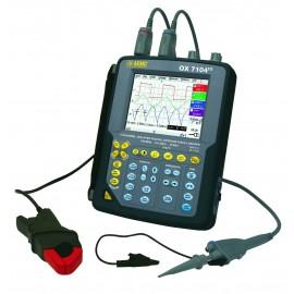 AEMC OX7104 III 4 Channel 100MHz Hand Held Oscilloscope Kit