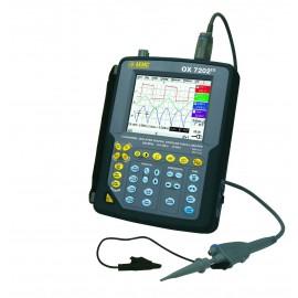 AEMC OX7202 III 2 Channel 200MHz Hand Held Oscilloscope Kit