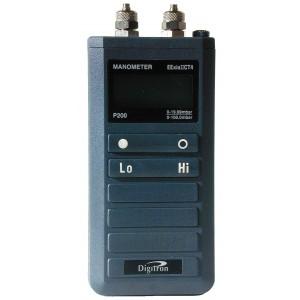 Digitron P200ULIS Low Pressure Intrinsically Safe Pressure Meter 0-100mbar