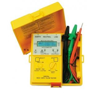 SEW 1813EL Microprocessor Control Menu Driven Digital RCD Tester