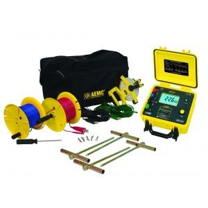 AEMC 4630 Digital Ground Resistance Tester Kit - 300ft