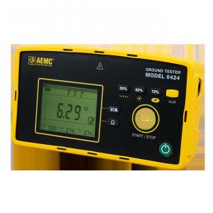AEMC 6424 Digital Ground Resistance Tester | Test Equipment Australia