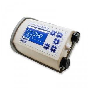 MIKO-10 Compact Micro-Ohmmeter 10A | Test Equipment Australia