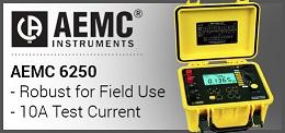 AEMC 6250 Micro-Ohmmeter