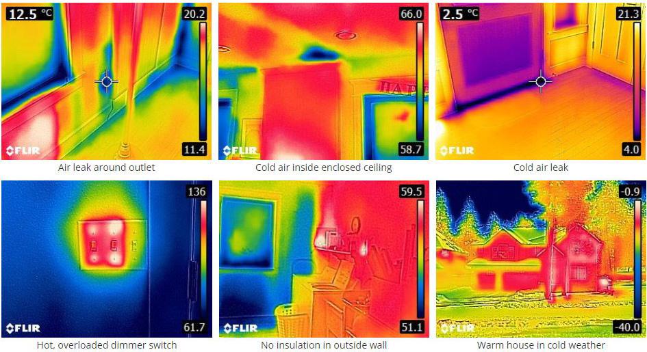 Thermal Images - FLIR C3 Thermal Imaging Camera