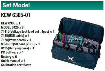 Kyoritsu 6305-1 Set