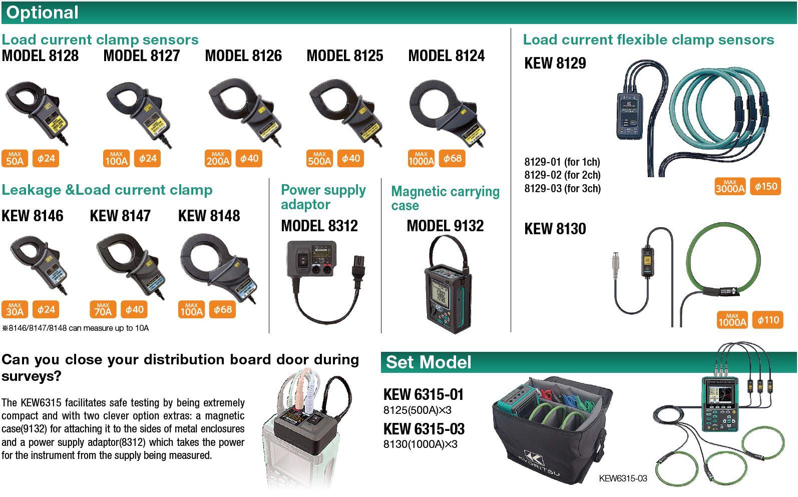 Kyoritsu 6315 Power Analyser | Test Equipment Australia