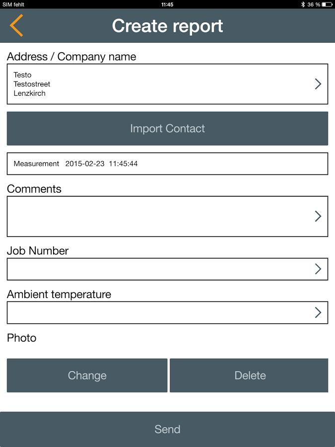 Smart Tools App Menu